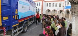 Bodrum'da binlerce öğrenciye geri dönüşüm anlatıldı