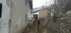 Bayırköy Beldesi'nde alt ve üst yapı yenileme çalışmaları