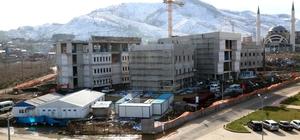 ODÜ Diş Hekimliği Fakültesi inşaatı hızla sürüyor