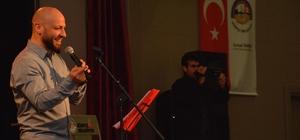 Tezeoğlu'ndan Körfez'de şiir dolu gece
