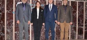 Emine Nur Günay'dan Tunga Barçın'a ziyaret