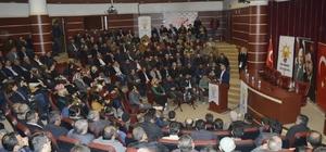 AK Parti teşkilatları Cumhurbaşkanlığı hükümet sistemi konusunda bilgilendirildi
