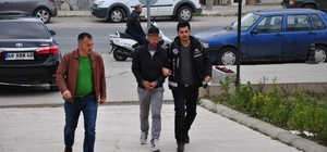 Milas'ta cezaevi firarisi yakalandı