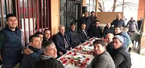 Başkan Uysal, sanayi esnafı ile kahvaltı yaptı