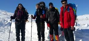 Süphan Dağına kış tırmanışı