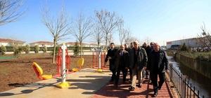 """Başkan Karaosmanoğlu, """"Kartepe Kanal Park çok güzel olacak"""""""