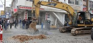 """Cizre'nin Sanayi Caddesi """"sevgi"""" caddesine dönüştü"""