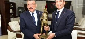 Polatlı Belediye Başkanı Yıldızkaya'dan Gürkan'a ziyaret