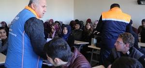 Haliliye Belediyesinden öğrencilere afet eğitimi