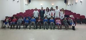 Kozlu köy okulları ağız ve diş sağlığı taraması protokolünün ilk ziyareti gerçekleşti