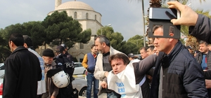 Aydın'da Eğitim-Sen eylemine polis gözaltıya devam ediyor