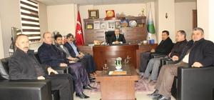 AK Partili Fırat'tan STK temsilcilerine ziyaret