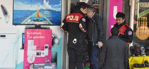 İş yerini yakmak isteyen kişi gözaltına alındı