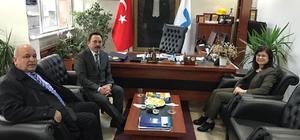 Şehit ailelerinden Demirsu'ya ziyaret