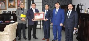 PTT Başmüdürü Bozkurt Başkan Bakıcı'yı ziyaret etti