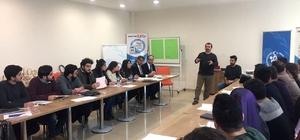 KBÜ'de öğrencilere TÜBİTAK'a yönelik proje geliştirme eğitimi verildi