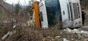 Kastamonu'da iki kamyon çarpıştı: 1 yaralı