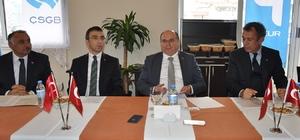 Muğla Valisi Amir Çiçek Milas'ta işadamlarıyla buluştu