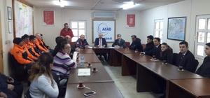 AFAD aylık personel toplantısı yapıldı