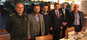 Sivas'a İHA Bölge Müdürü olarak atanan Göktürk Fırat'a Rize basınından veda yemeği