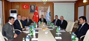 1. OSB Yönetim Kurulu Toplantısı Vali Toprak'ın başkanlığında yapıldı
