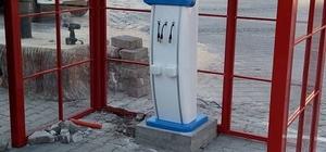 Kırıkhan'a akülü sarj istasyonu