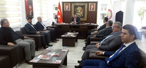 Beyşehir'in muhtarlarından Başkan Tutal'a ziyaret