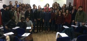 BEÜ'de öğrencilere İtalyanca kursu