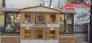 Yusufeli'nde Sokak Kütüphanesi kuruldu