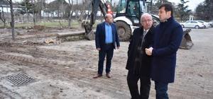 Başkan Albayrak Çerkezköy'de incelemelerde bulundu