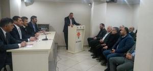 AK Parti Merkez İlçe Başkanlığı İstişare toplantısını yaptı