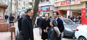 Başkan Türkmen halkla iç içe