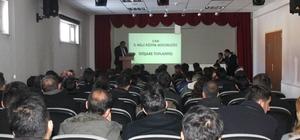 Çaldıran'da Temel Eğitim İstişare Toplantısı