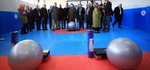 Başkan Karaosmanoğlu, Sarımeşe spor salonunu inceledi