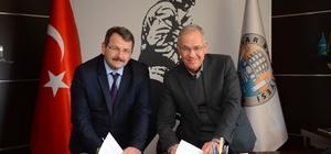 Dinar Belediyesi ile SGK arasında protokol imzalandı