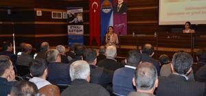 Alanyalı şoförlere etkili iletişim semineri