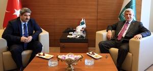Başkan Karaosmanoğlu'dan KOTO'ya ziyaret