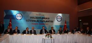 Trabzon'da halk oylamasıyla ilgili güvenlik toplantısı