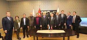 """SATSO Başkanı Kösemusul: """"Örnek bölge olma yolunda ilerliyoruz"""""""
