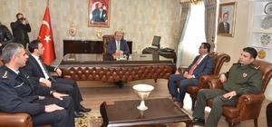 Muğla Valisi Amir Çiçek'ten yeni Milas Kaymakamı Arslan'a ziyaret
