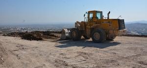 Recep Tayyip Erdoğan mesire alanında yol genişletme ve asfalt çalışması başladı
