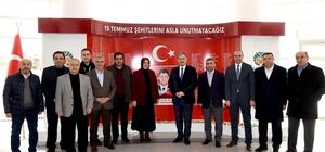 AK Parti heyetinden Başkan Çakır'a teşekkür ziyareti