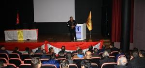 DÜ özel güvenlik personellerine hizmet içi semineri verildi
