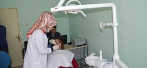 PKK'lı teröristlerin zarar verdiği sağlık merkezi onarıldı
