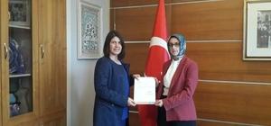 AK Parti Niğde Kadın Kolları Başkanlığına atama yapıldı