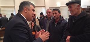 Başkan Özgüven vatandaşlarla bir araya geldi