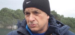 Sakaryaspor, Elaziz Belediyespor maçının hazırlıklarını sürdürüyor