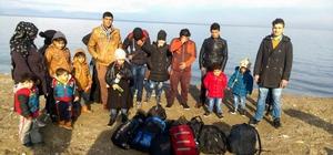 Kuşadası'nda 18 göçmen yakalandı
