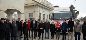 Öğrenci ve öğretim elemanlarından Halep'e yardım
