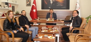 AK Parti'den İlçe Milli Eğitim Müdürü Koç'a ziyaret
